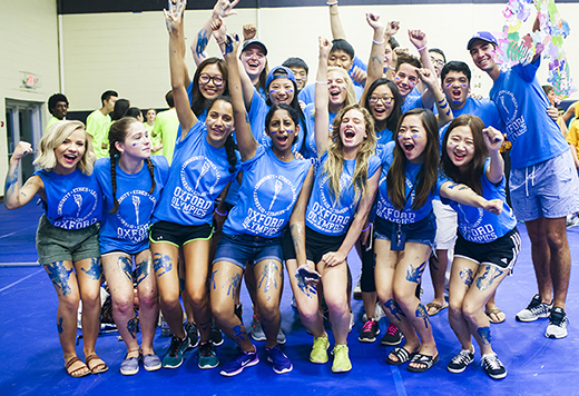 Oxford Olympics is one of the first traditions to welcome each incoming class to the campus. With a record-breaking number of undergraduate applicants, Emory's Class of 2021 will be among the strongest ever for the university.