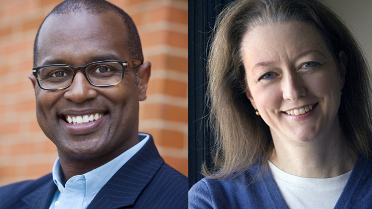 Susan Ashmore and Kenneth Carter were named as Charles Howard Candler Professors.