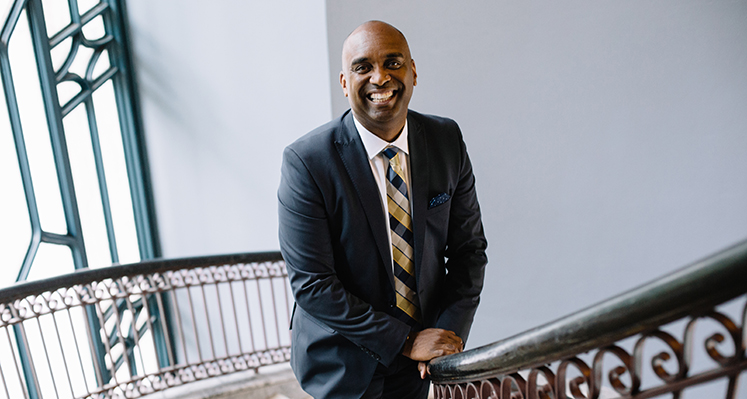 Dwight McBride will be Oxford's 2018 Commencement speaker.