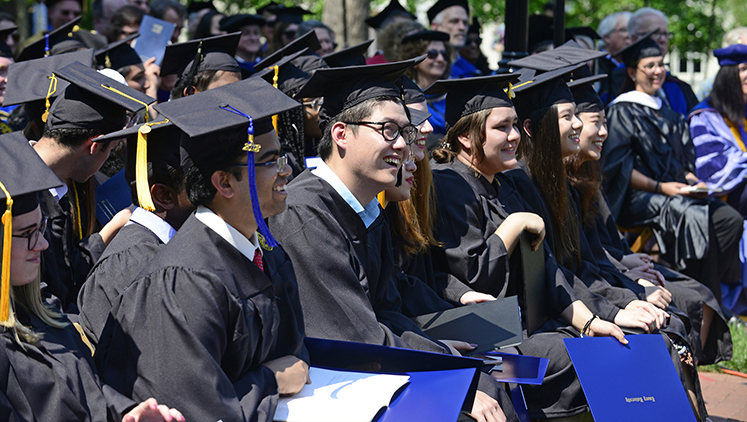 Oxford will celebrate commencement on May 12.
