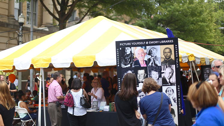 Tens of thousands of book lovers are expected to visit Decatur during Labor Day weekend for the 2019 AJC Decatur Book Festival