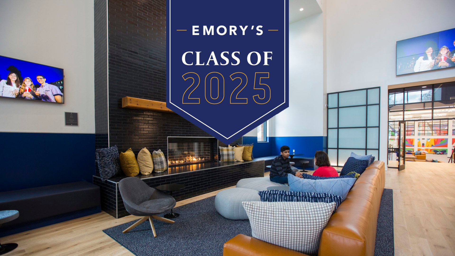 The final students admitted to Emory's Class of 2025 are drawn from the largest and most diverse applicant pool in the university's history.